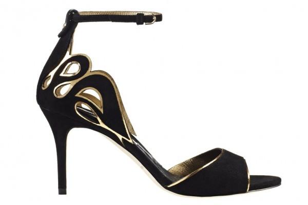 bilekten bağlamalı ayakkabılar