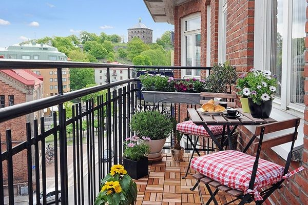 küçük balkonlar